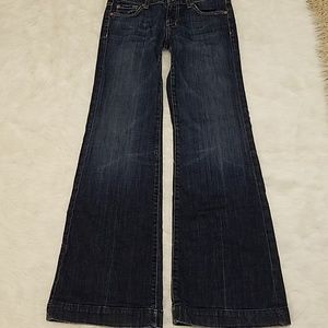 7 For All Mankind 'Dojo' size 26 jeans